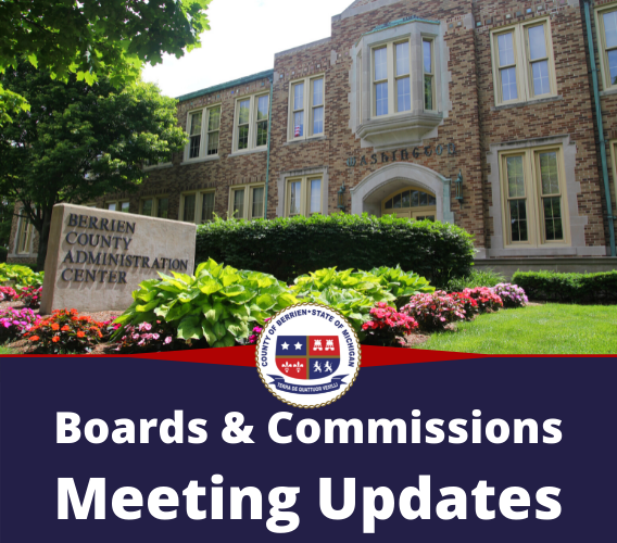 Board of Commissioners & Board of Health Meeting Updates