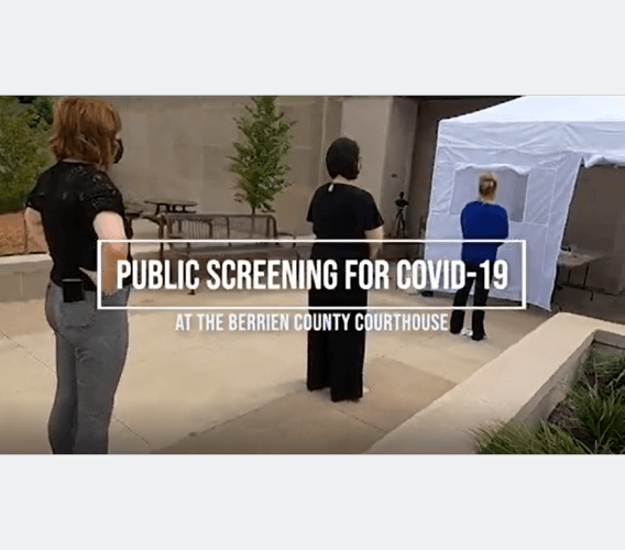 COVID-19 Screening at the Trial Court