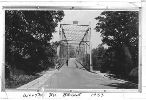 Walton Road Bridge 1933